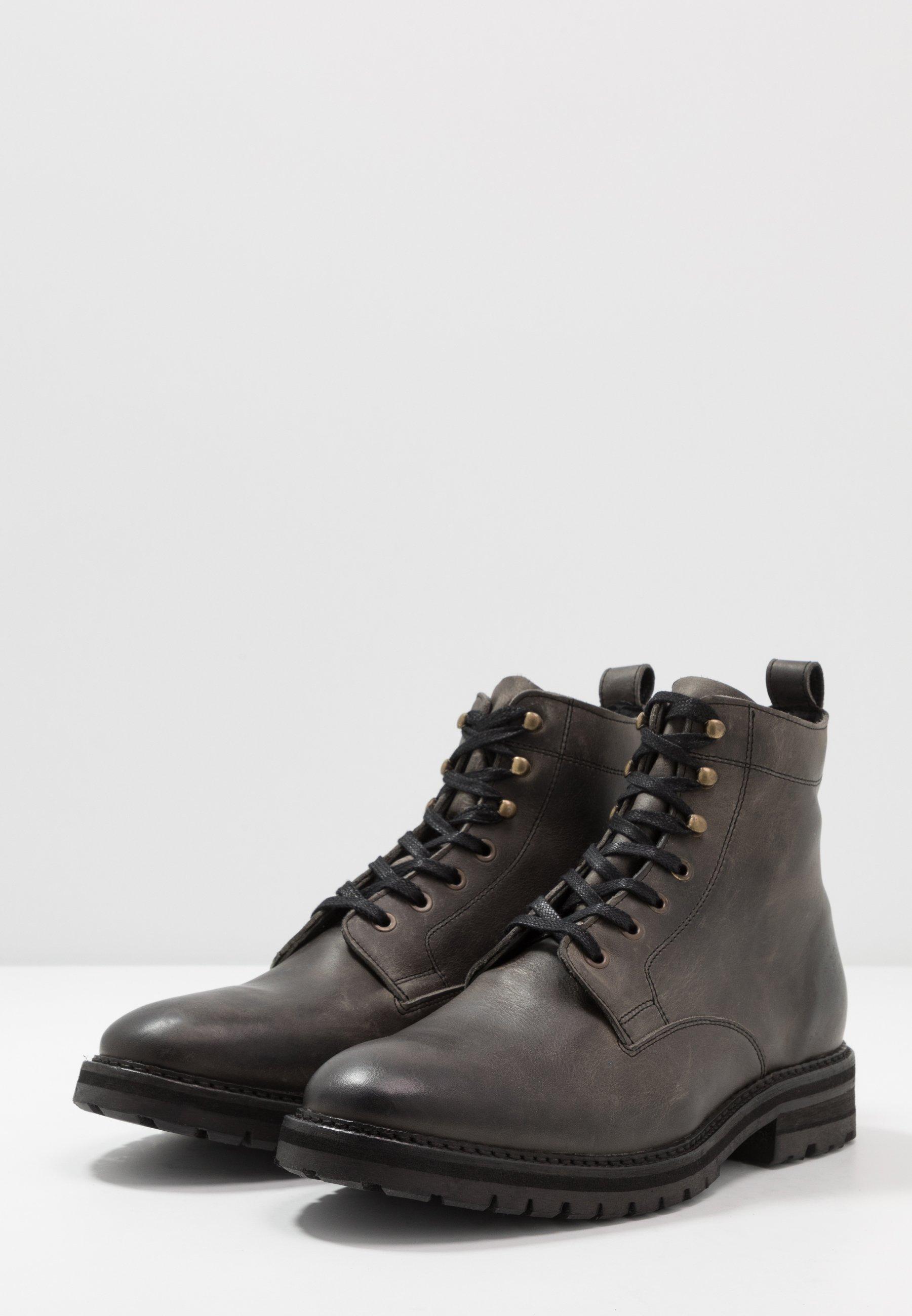 Hudson London Able - Botines Con Cordones Grey