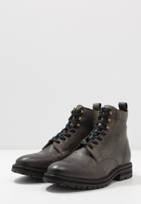 Hudson London - ABLE - Šněrovací kotníkové boty - grey - 2