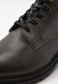 Hudson London - ABLE - Šněrovací kotníkové boty - grey - 5