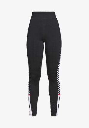HIGH WAIST - Leggings - black
