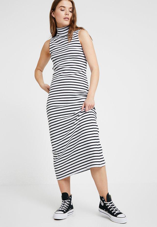 LALMA DRESS - Maksimekko - white/black