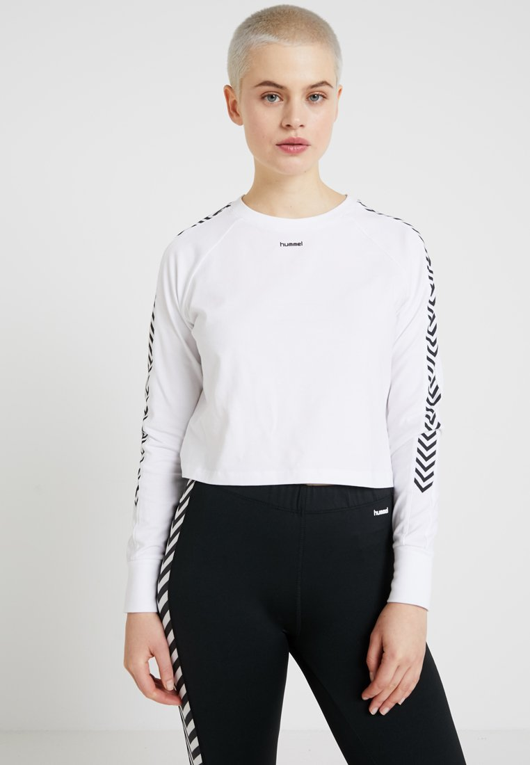 Hummel Hive - Langærmede T-shirts - white