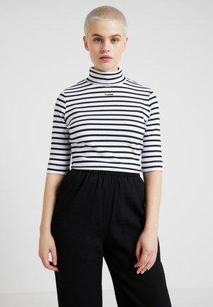 T-shirts print - white/black