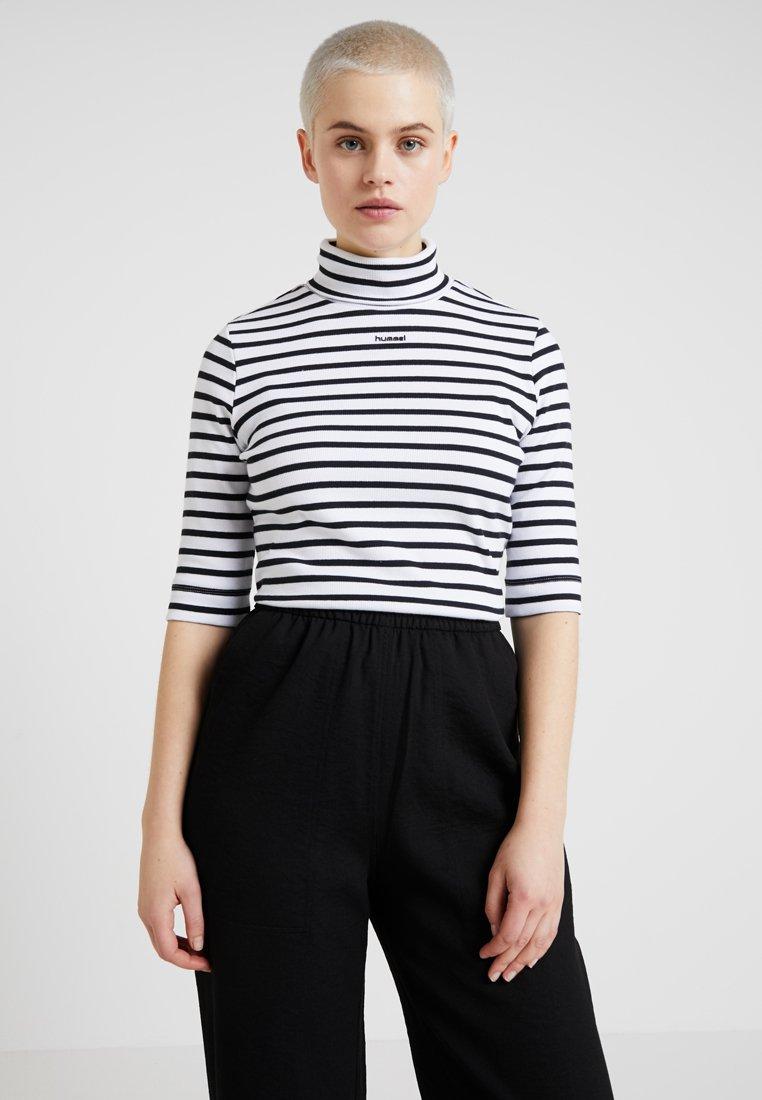 Hummel Hive - T-Shirt print - white/black
