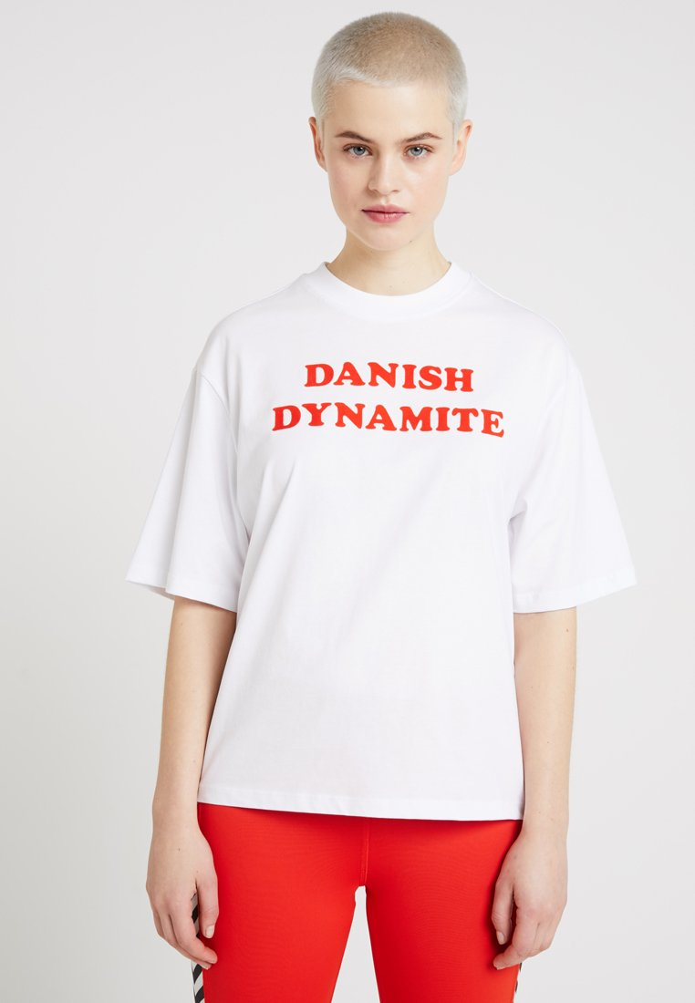 Hummel Hive - HMLAVA  - T-shirts print - white