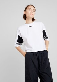 Hummel Hive - CANA - Camiseta estampada - white - 0