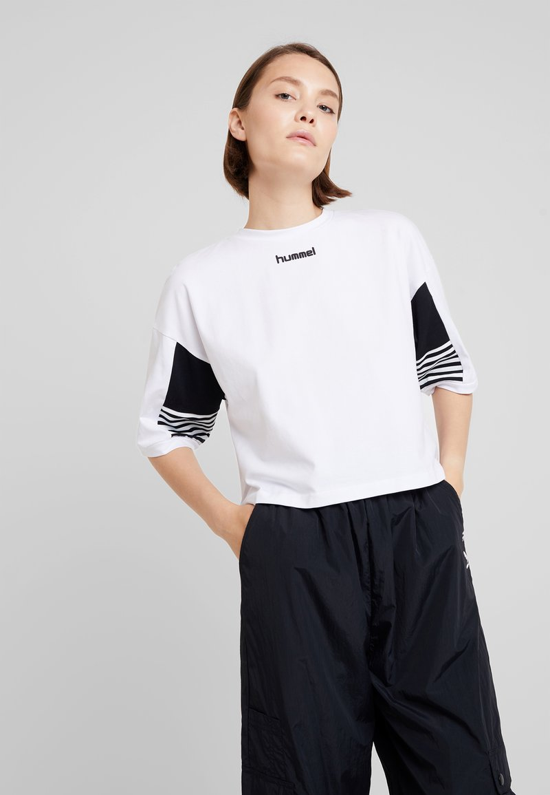 Hummel Hive - CANA - Camiseta estampada - white