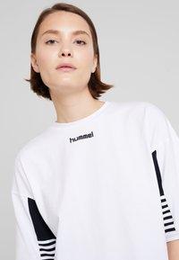 Hummel Hive - CANA - Camiseta estampada - white - 3