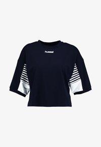 Hummel Hive - CANA - T-shirt med print - black - 4