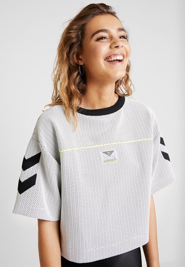HMLDAIMI  - T-shirt imprimé - white