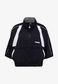 Hummel Hive - HALF ZIP - Windbreaker - black - 5