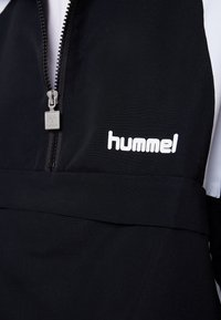 Hummel Hive - HALF ZIP - Windbreaker - black - 6