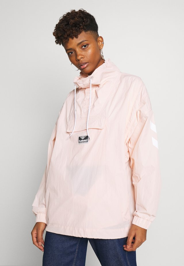 CALISTA OVERSIZED ANORAK - Windbreaker - cloud pink