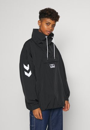 CALISTA OVERSIZED ANORAK - Veste coupe-vent - black