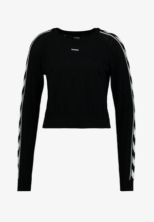CECILIA - Jumper - black