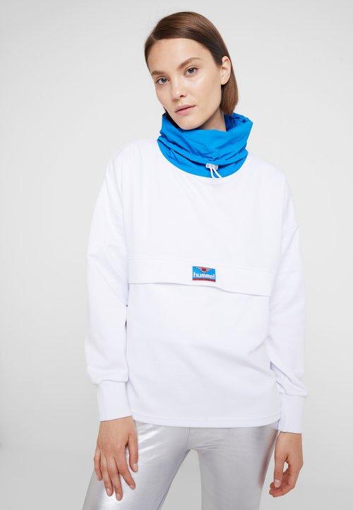 Hummel Hive CATINKA - Bluza - white Odzież Damska TTVP-KD5 szyk