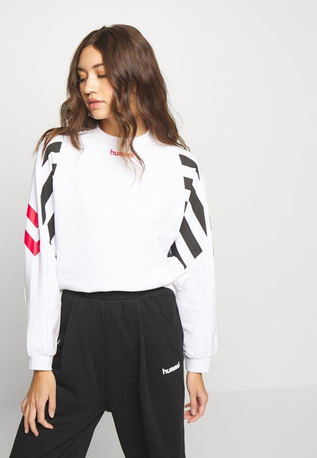 HVIDBJERG - Sweatshirt - white