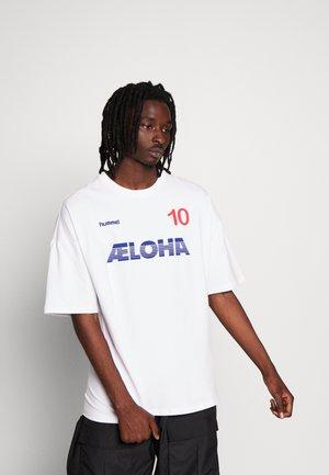 INSIDE REEF LOOSE  - T-shirt imprimé - white