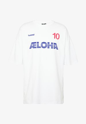INSIDE REEF LOOSE  - Camiseta básica - white