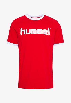 HMLBAY - Camiseta estampada - true red