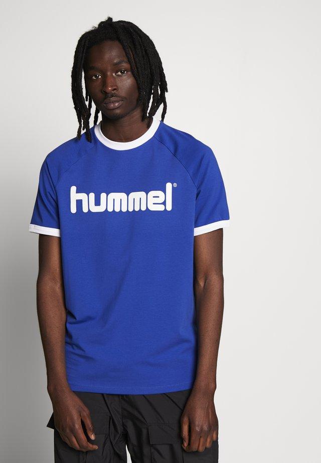 HMLBAY - Printtipaita - mazarine blue