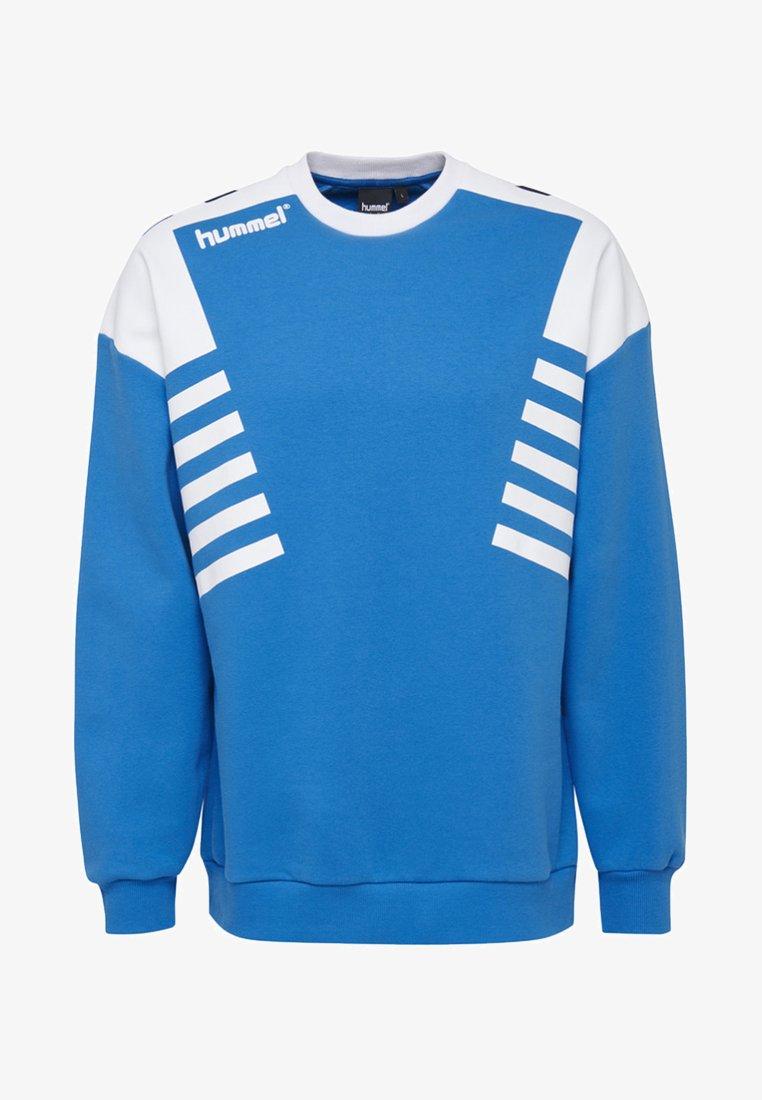 Hummel Hive - HIVE HMLCARL-OTTO SWEATSHIRT - Sweatshirt - french blue