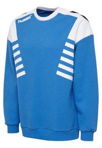 Hummel Hive - HIVE HMLCARL-OTTO SWEATSHIRT - Sweatshirt - french blue - 2