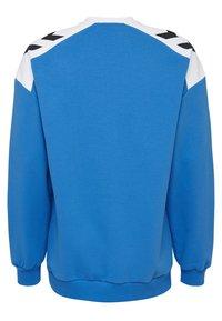 Hummel Hive - HIVE HMLCARL-OTTO SWEATSHIRT - Sweatshirt - french blue - 1