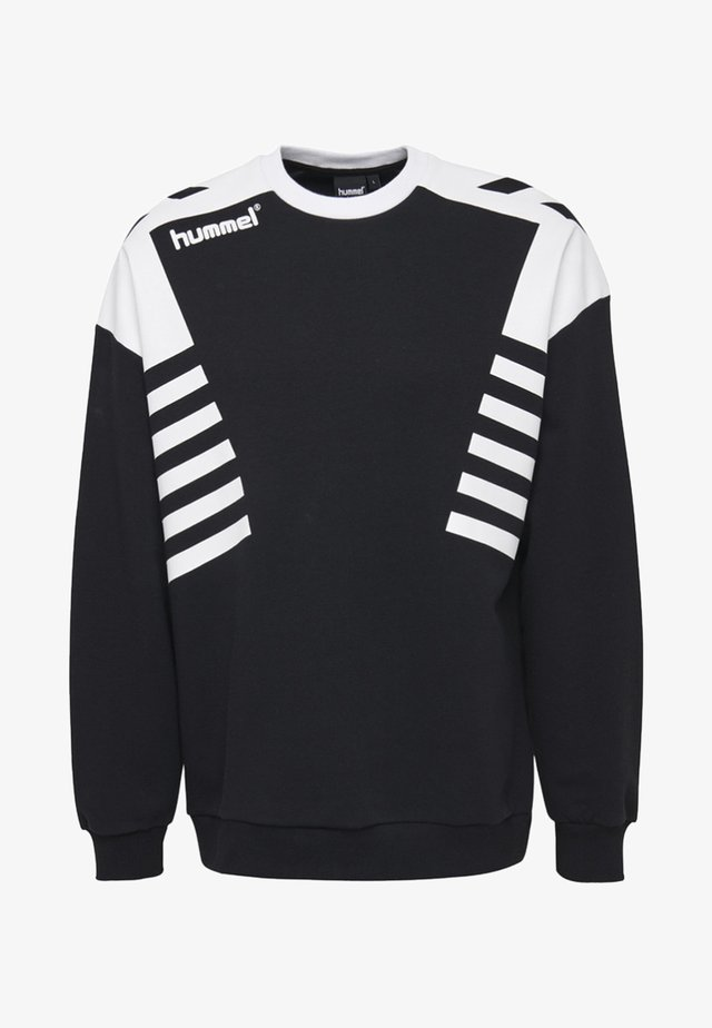 HIVE HMLCARL-OTTO SWEATSHIRT - Sweater - black