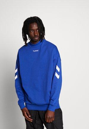 CHRIS LOOSE - Sweatshirt - mazarine blue