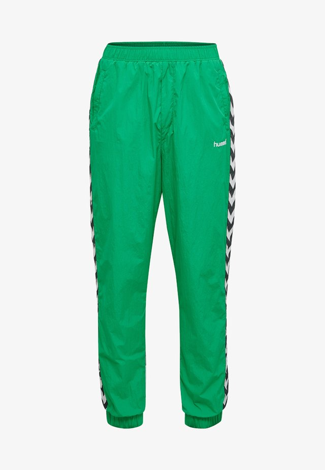 HMLCHRISTIAN  - Tracksuit bottoms - bright green