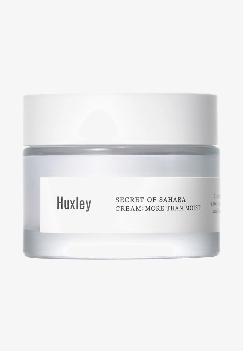 Huxley - CREAM: MORE THAN MOIST - Gesichtscreme - -