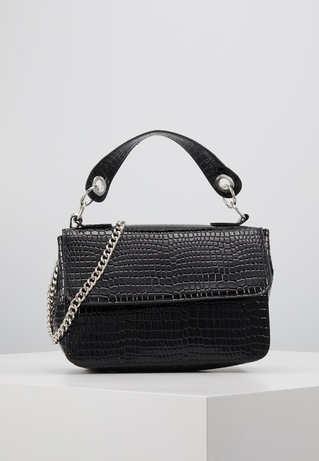 DALLY CROCO - Handbag - black