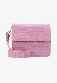 HVISK - CAYMAN SHINY STRAP BAG - Bandolera - pastel purple - 1