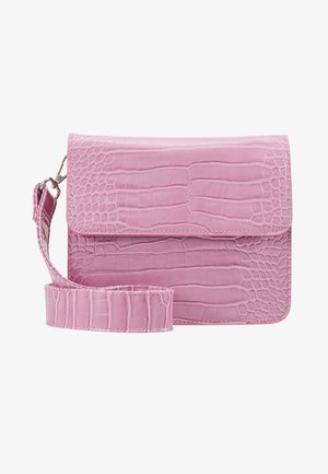 CAYMAN SHINY STRAP BAG - Bandolera - pastel purple