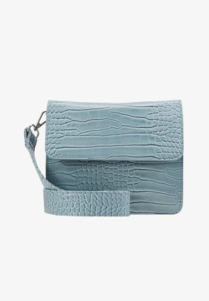 CAYMAN SHINY STRAP BAG - Schoudertas - baby blue