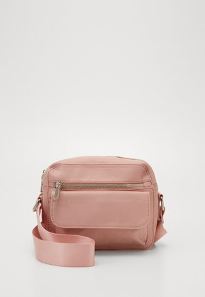 HALLI - Across body bag - dusty pink