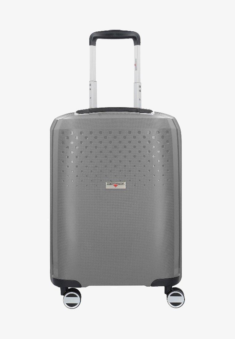 Hardware - BUBBLES  - Wheeled suitcase - grey