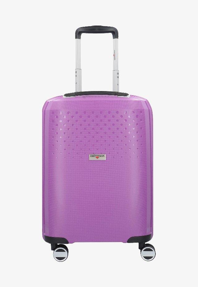 BUBBLES  - Wheeled suitcase - purple