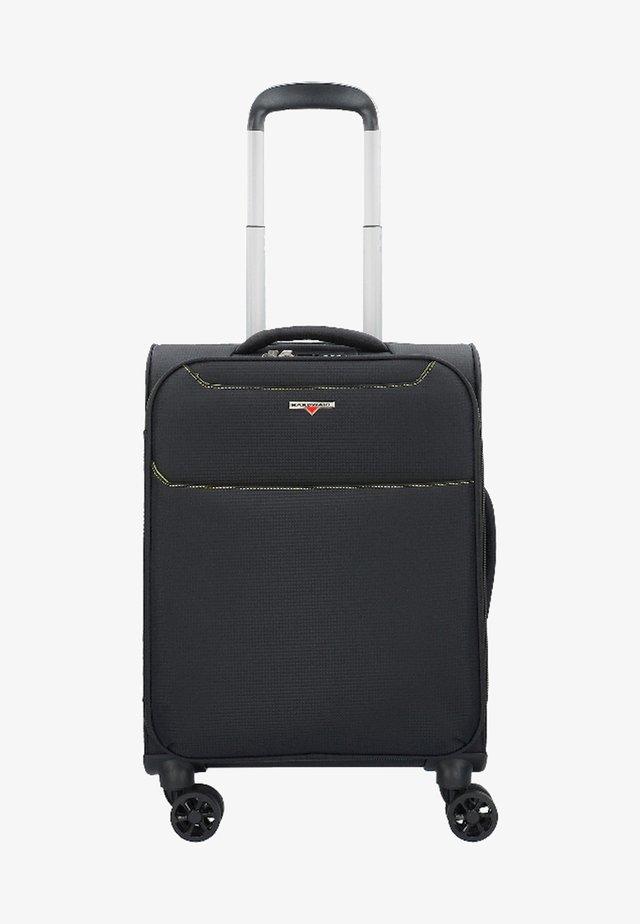 XLIGHT - Wheeled suitcase - black