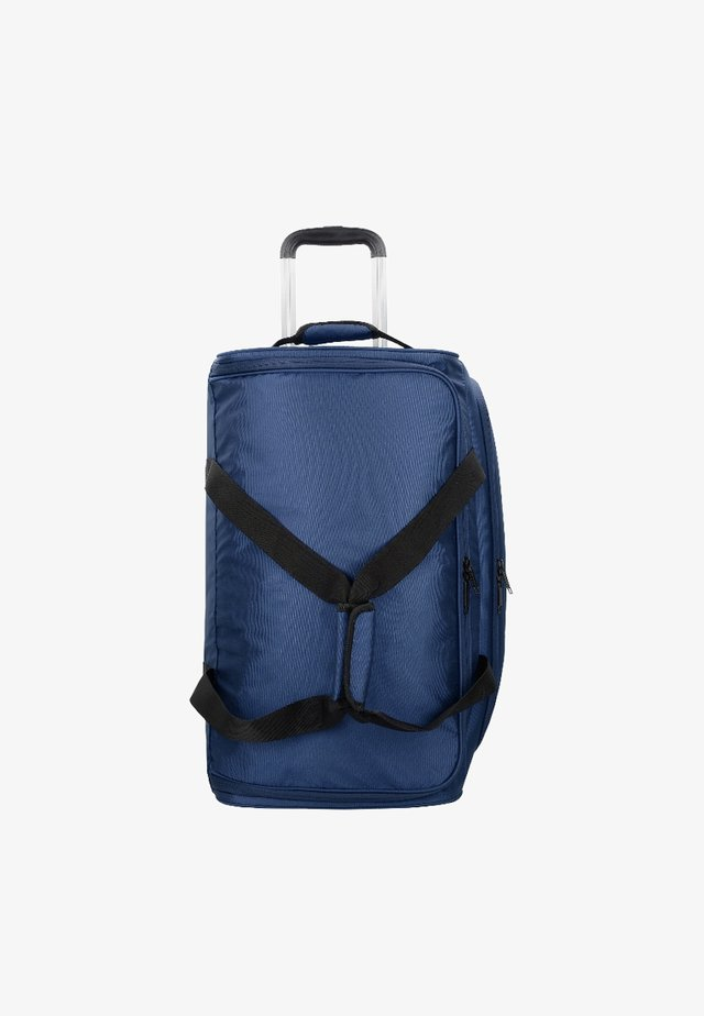 Wheeled suitcase - dark blue