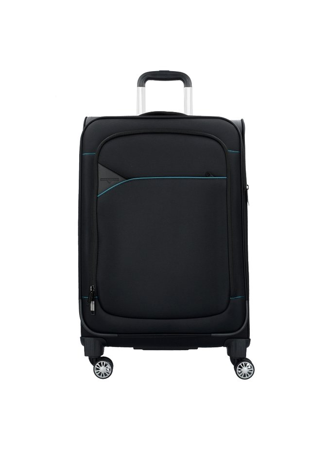 SKYLINE - Wheeled suitcase - black petrol
