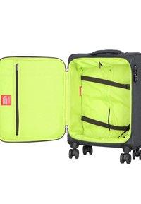 Hardware - REVOLUTION - Wheeled suitcase - dark grey - 4