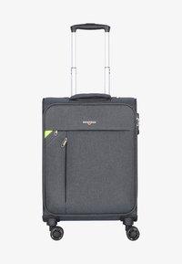 Hardware - REVOLUTION - Wheeled suitcase - dark grey - 0