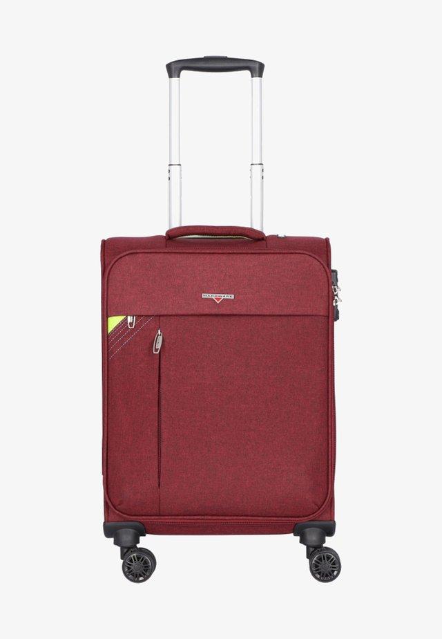 REVOLUTION - Wheeled suitcase - bordeaux