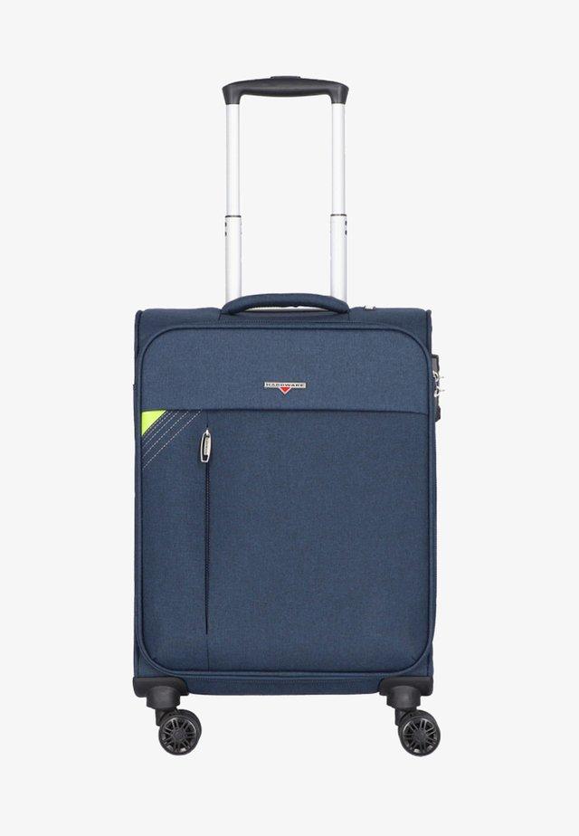 REVOLUTION - Wheeled suitcase - dark blue