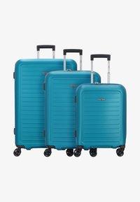 Hardware - Wheeled suitcase - caribbean blue - 0
