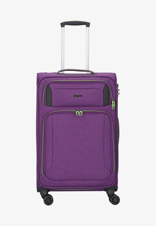 Luggage - bright purple