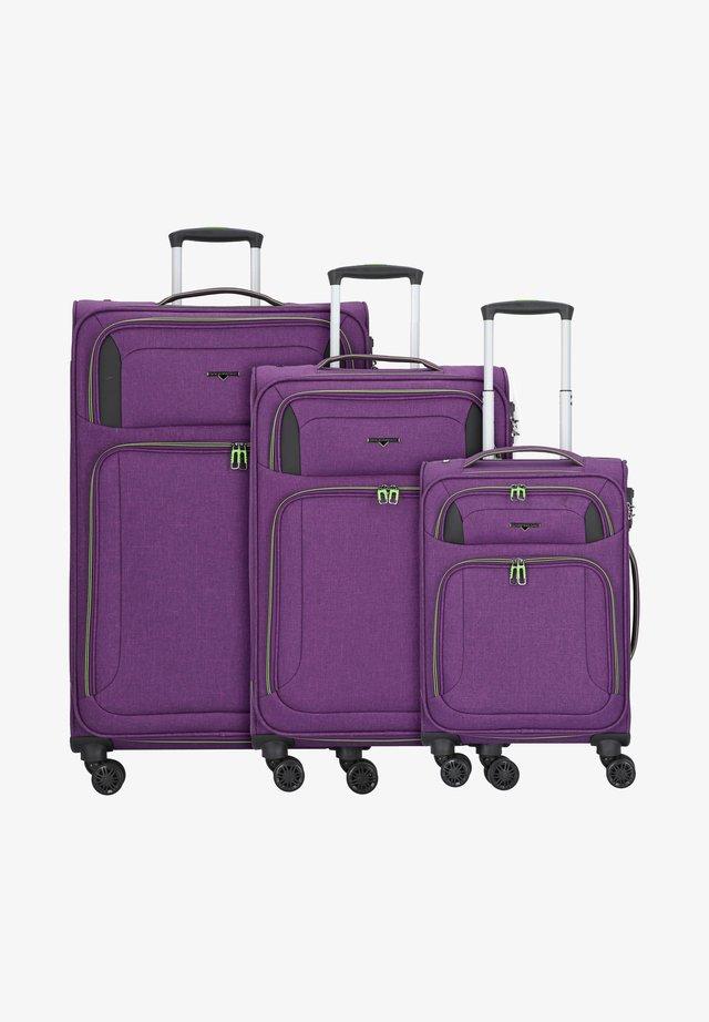 AIRSTREAM - Kofferset - bright purple