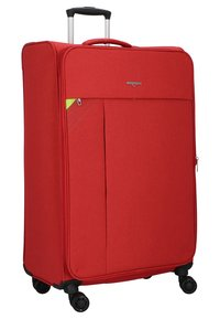 Hardware - REVOLUTION - Wheeled suitcase - coral red - 2